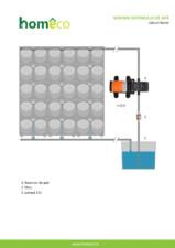Schema sistemului de apa homeco