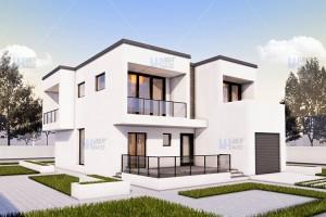 Proiecte case cu etaj