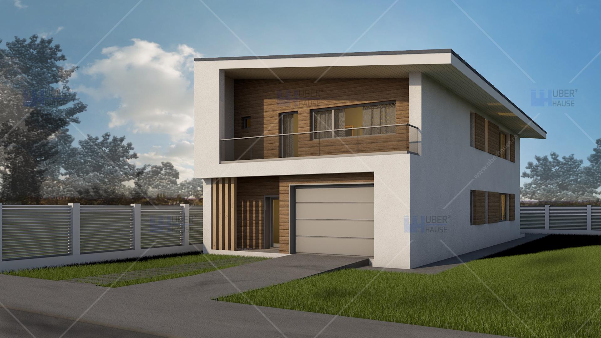 Lucrari proiecte proiect casa pe structura metalica for Proiect casa 100 mp fara etaj