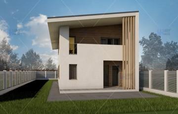 Proiecte case pe structura metalica UBERHAUSE valorifica avantajul structurii metalice realizand proiecte cu deschideri mai mari, fara stalpi de rezistenta care fragmenteaza spatiul.