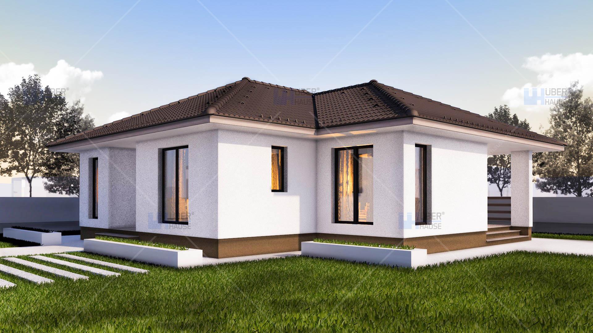 Lucrari proiecte proiect casa mica ema uberhause poza 1 for Proiect casa 100 mp fara etaj