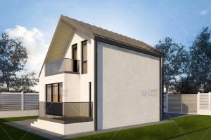 Proiecte case mici Casele mici proiectate de UBERhause au design atractiv, sunt comode, practice si usor de intretinut si sunt de preferat datorita costurilor mici.
