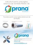 Instructiuni pentru prelungirea recuperatorului de caldura PRANA - 150