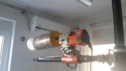 Montaj recuperatoare de caldura 150, 200C, 200G, 250, 340A, 340S Montaj recuperatoare de caldura