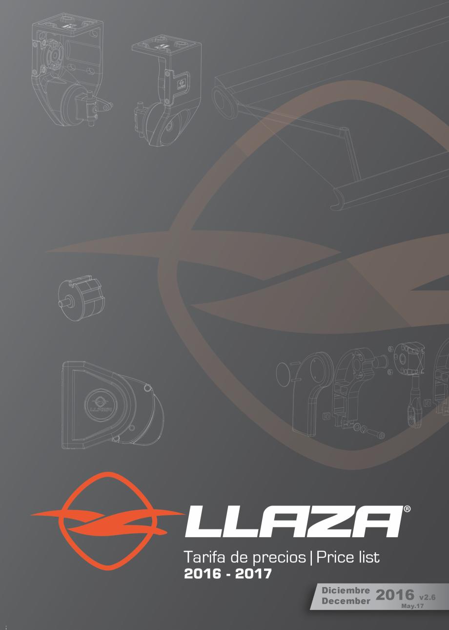Pagina 1 - Lista de preturi LLaza LLAZA Bip 300, Bip 500, Maxi Screen, Aluminiu, Lemn Catalog,...