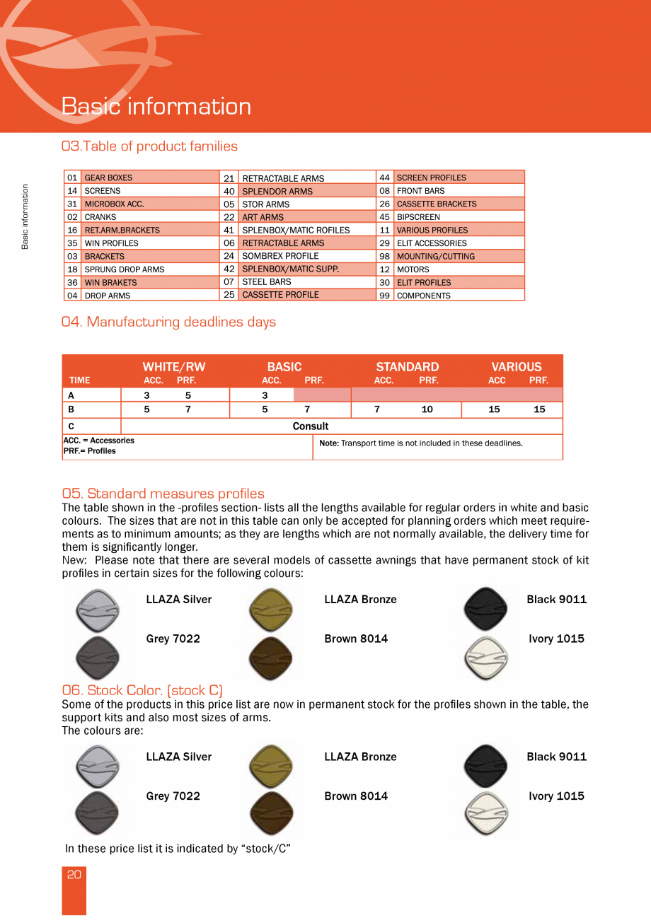 Pagina 41 - Lista de preturi LLaza LLAZA Bip 300, Bip 500, Maxi Screen, Aluminiu, Lemn Catalog,...