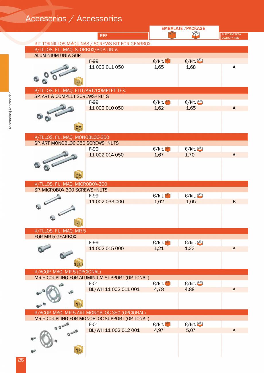Pagina 54 - Lista de preturi LLaza LLAZA Bip 300, Bip 500, Maxi Screen, Aluminiu, Lemn Catalog,...