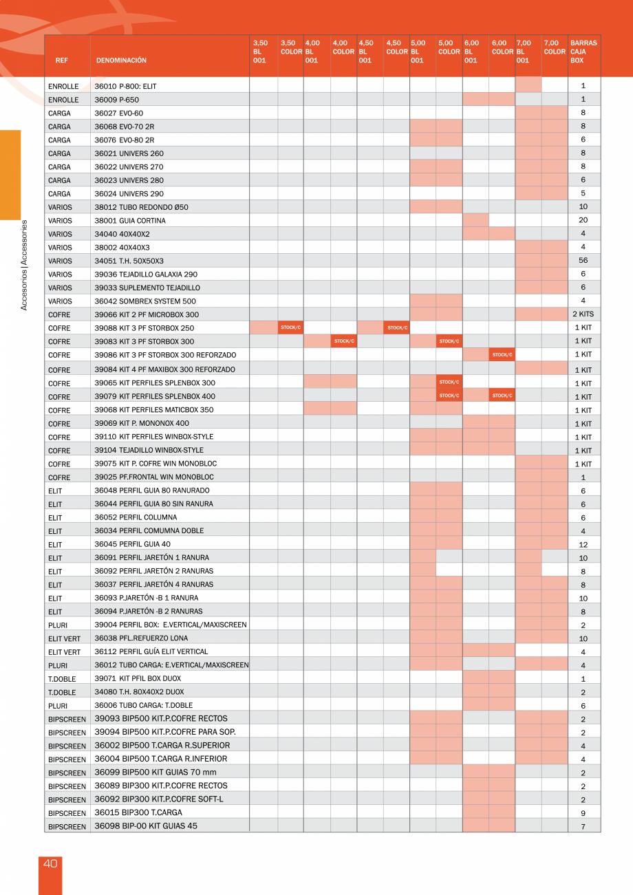 Pagina 82 - Lista de preturi LLaza LLAZA Bip 300, Bip 500, Maxi Screen, Aluminiu, Lemn Catalog,...