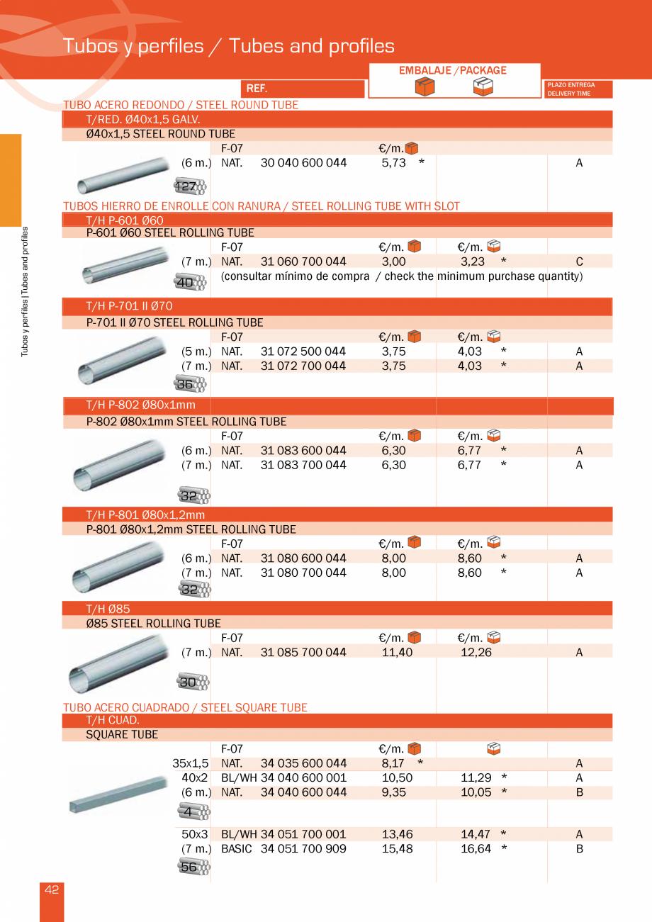 Pagina 86 - Lista de preturi LLaza LLAZA Bip 300, Bip 500, Maxi Screen, Aluminiu, Lemn Catalog,...