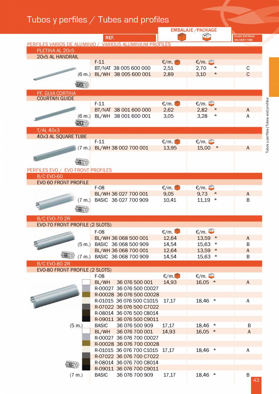 Pagina 88 - Lista de preturi LLaza LLAZA Bip 300, Bip 500, Maxi Screen, Aluminiu, Lemn Catalog,...