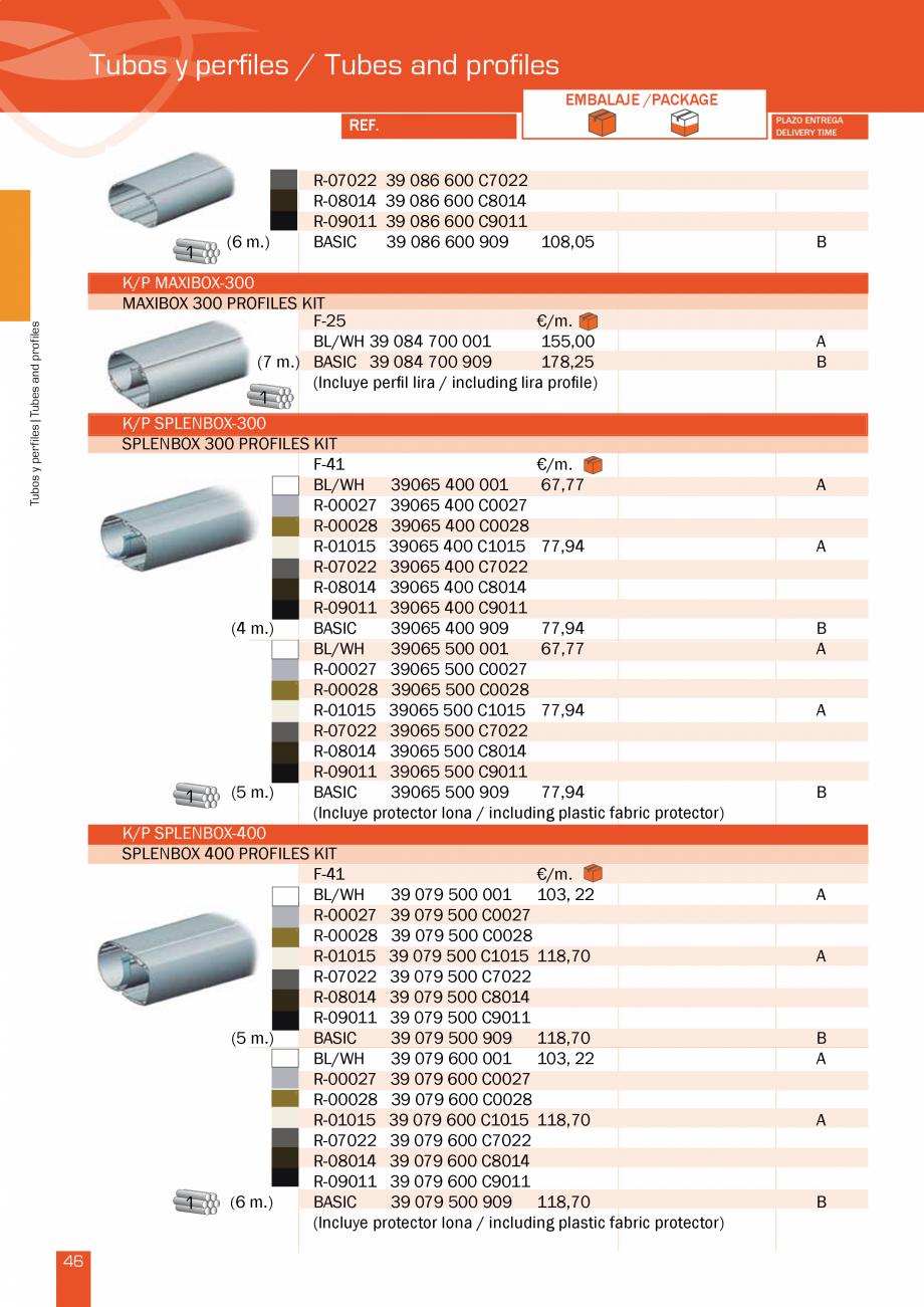 Pagina 94 - Lista de preturi LLaza LLAZA Bip 300, Bip 500, Maxi Screen, Aluminiu, Lemn Catalog,...