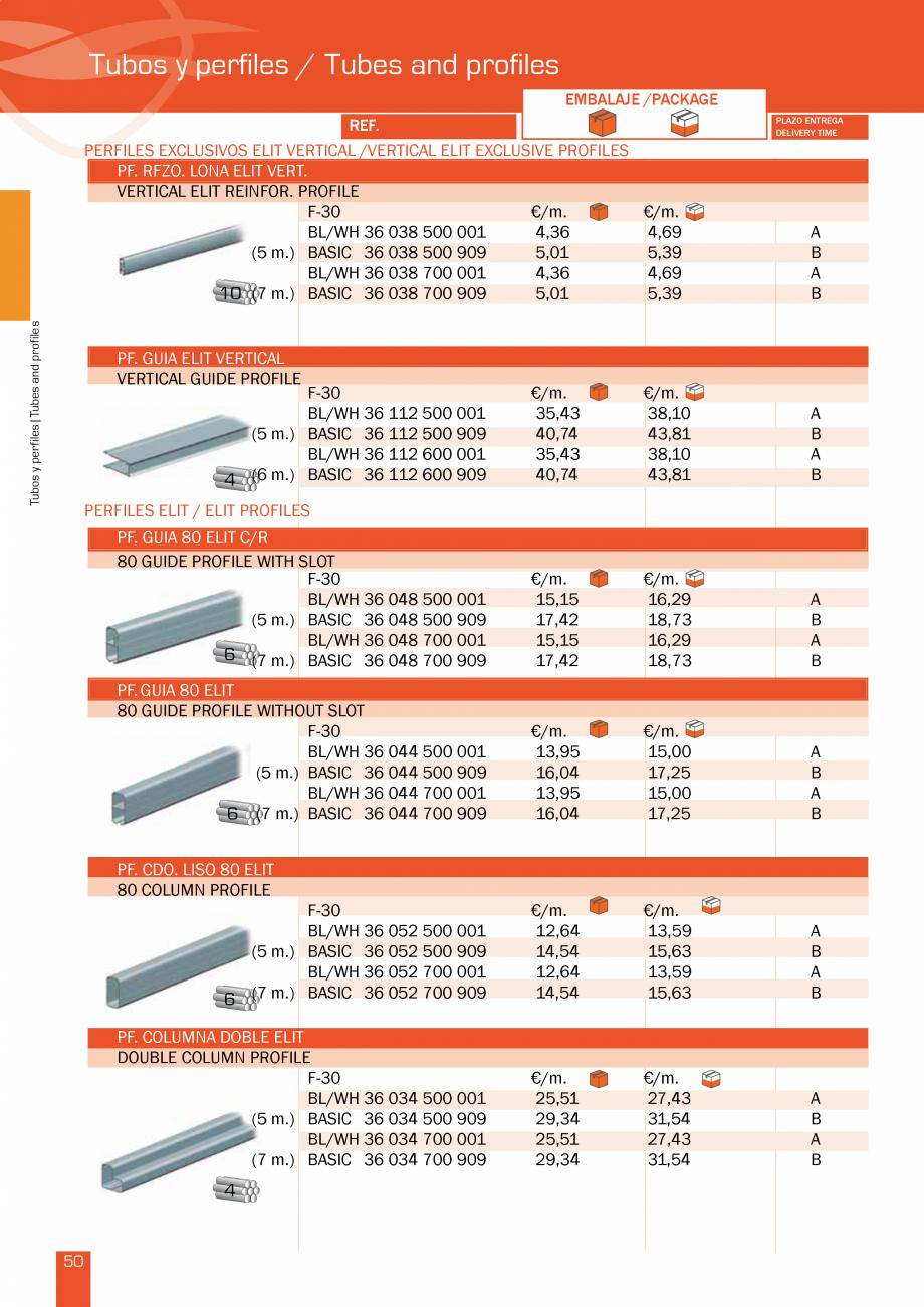 Pagina 102 - Lista de preturi LLaza LLAZA Bip 300, Bip 500, Maxi Screen, Aluminiu, Lemn Catalog,...
