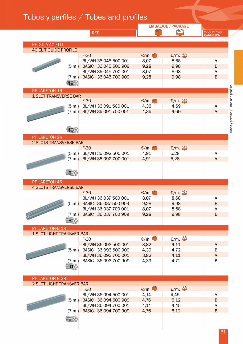 Pagina 104 - Lista de preturi LLaza LLAZA Bip 300, Bip 500, Maxi Screen, Aluminiu, Lemn Catalog,...