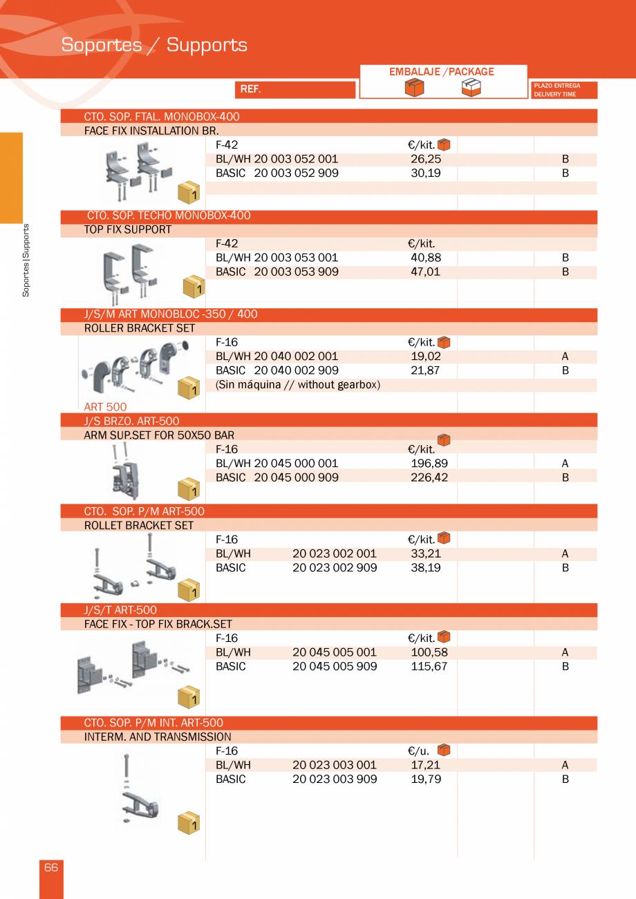 Pagina 134 - Lista de preturi LLaza LLAZA Bip 300, Bip 500, Maxi Screen, Aluminiu, Lemn Catalog,...