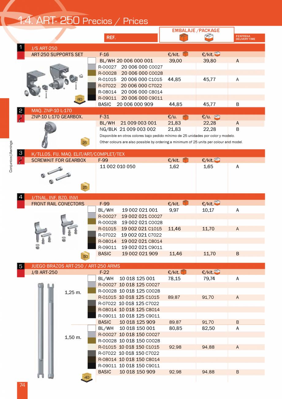 Pagina 150 - Lista de preturi LLaza LLAZA Bip 300, Bip 500, Maxi Screen, Aluminiu, Lemn Catalog,...