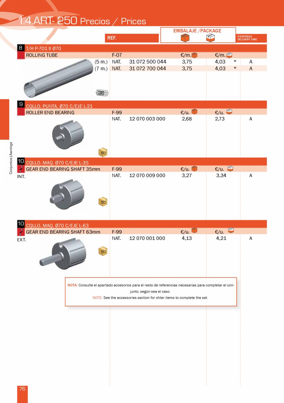 Pagina 154 - Lista de preturi LLaza LLAZA Bip 300, Bip 500, Maxi Screen, Aluminiu, Lemn Catalog,...