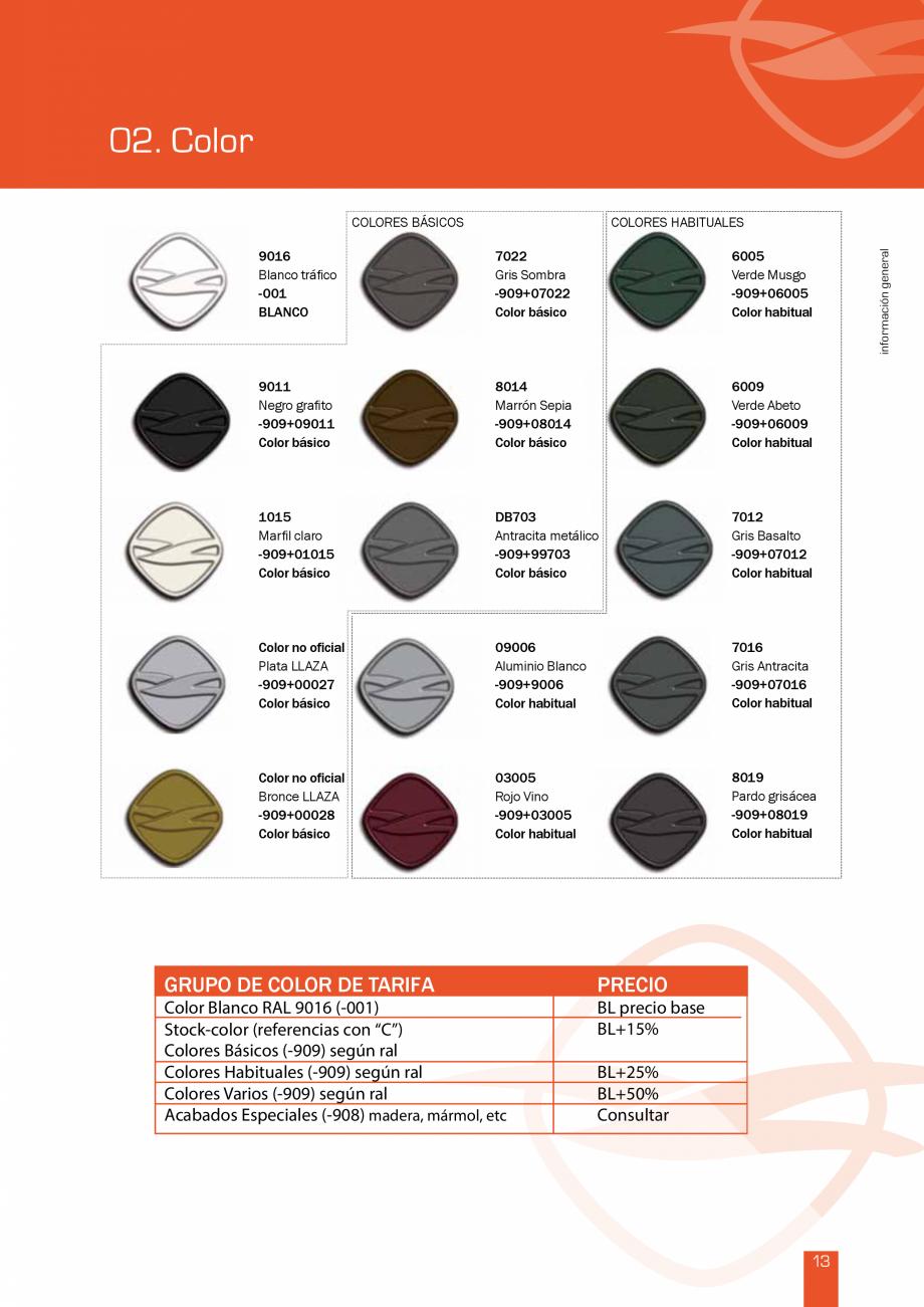 Pagina 28 - Lista de preturi LLaza LLAZA Bip 300, Bip 500, Maxi Screen, Aluminiu, Lemn Catalog,...
