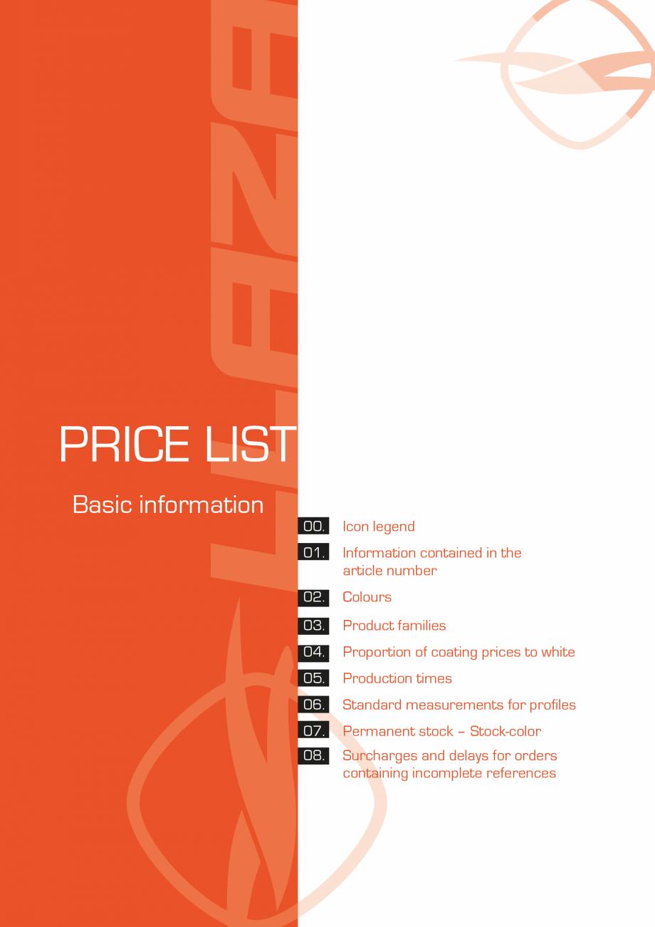 Pagina 36 - Lista de preturi LLaza LLAZA Bip 300, Bip 500, Maxi Screen, Aluminiu, Lemn Catalog,...