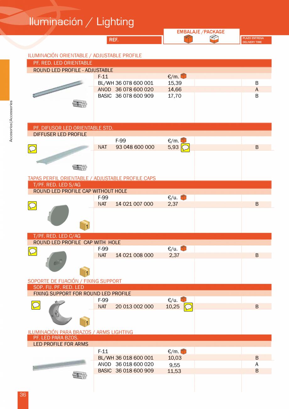 Pagina 73 - Lista de preturi LLaza LLAZA Bip 300, Bip 500, Maxi Screen, Aluminiu, Lemn Catalog,...