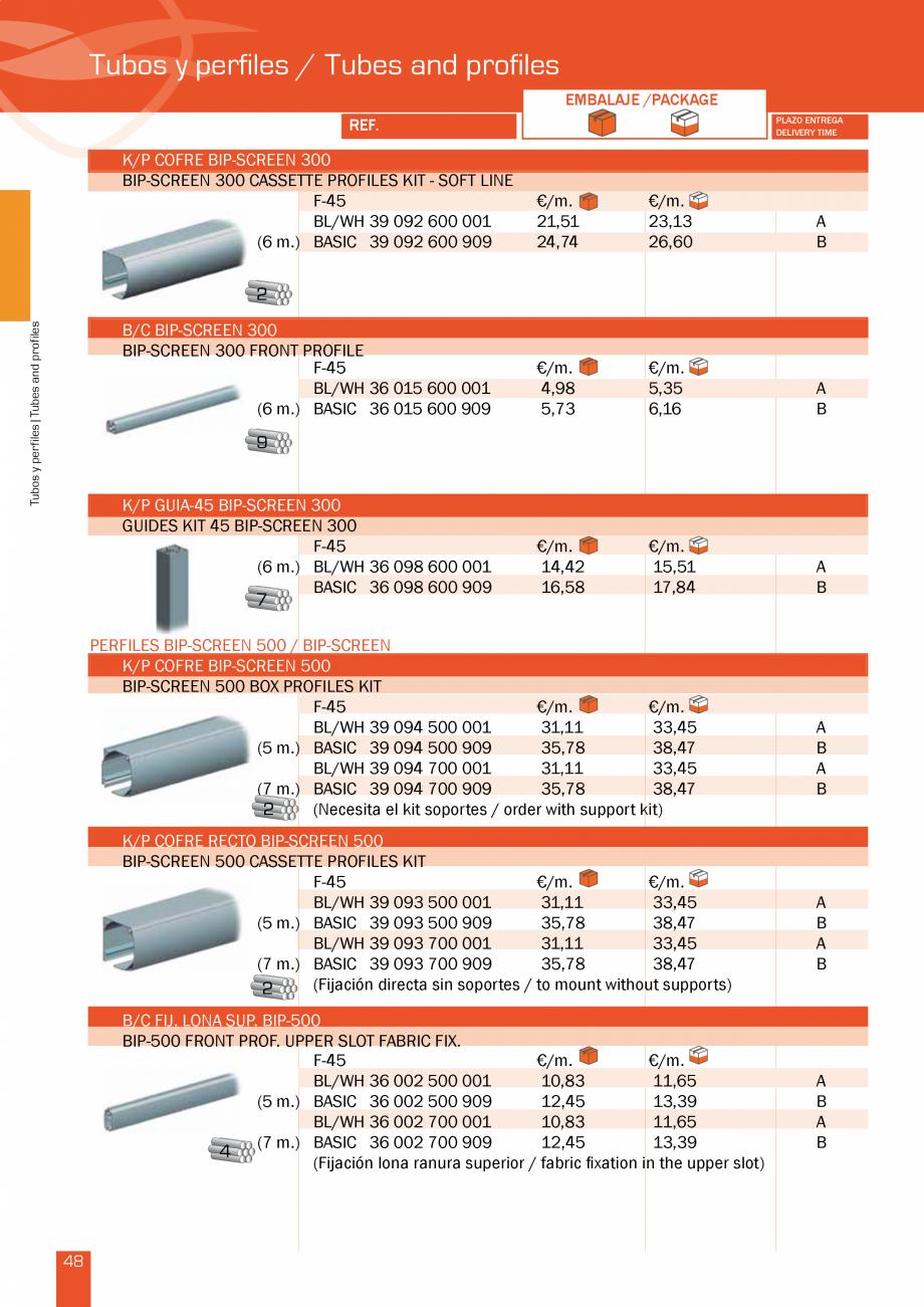 Pagina 97 - Lista de preturi LLaza LLAZA Bip 300, Bip 500, Maxi Screen, Aluminiu, Lemn Catalog,...