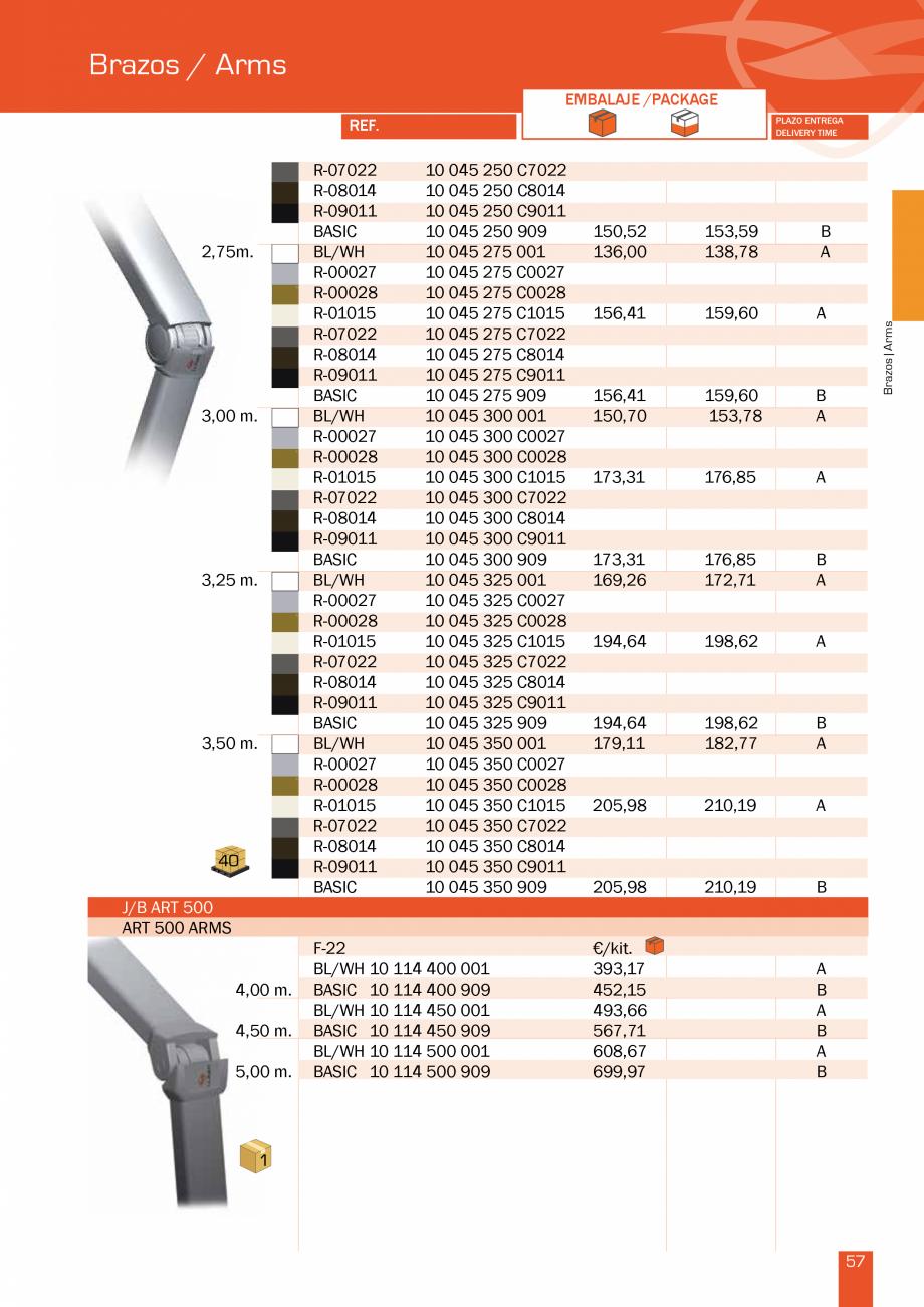 Pagina 115 - Lista de preturi LLaza LLAZA Bip 300, Bip 500, Maxi Screen, Aluminiu, Lemn Catalog,...