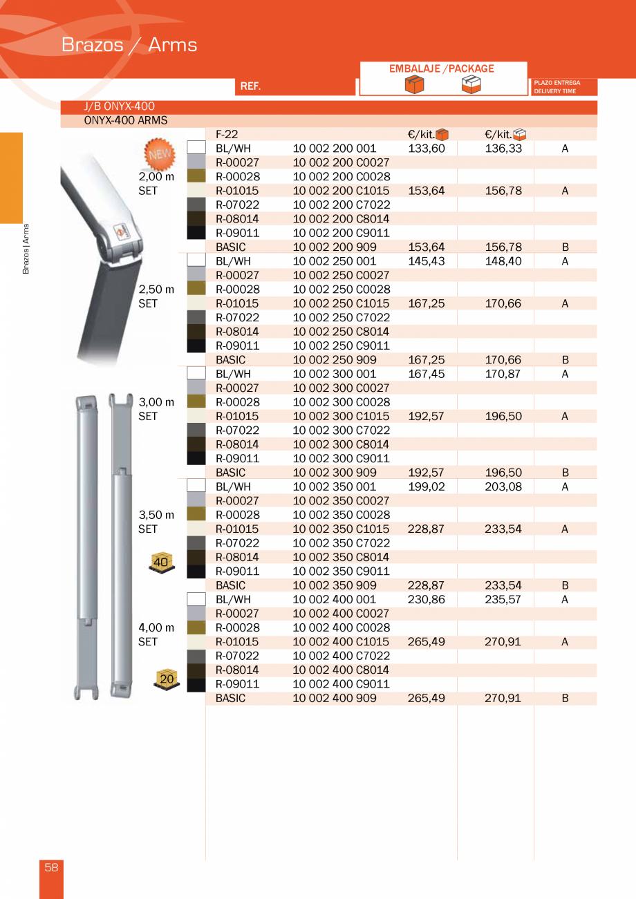 Pagina 117 - Lista de preturi LLaza LLAZA Bip 300, Bip 500, Maxi Screen, Aluminiu, Lemn Catalog,...