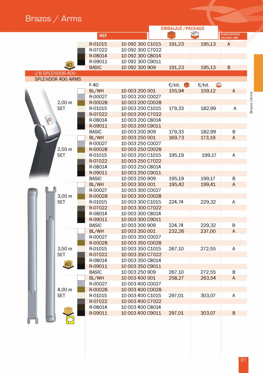 Pagina 123 - Lista de preturi LLaza LLAZA Bip 300, Bip 500, Maxi Screen, Aluminiu, Lemn Catalog,...