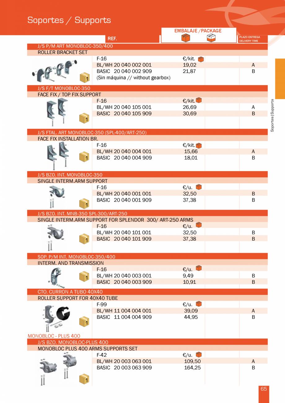 Pagina 131 - Lista de preturi LLaza LLAZA Bip 300, Bip 500, Maxi Screen, Aluminiu, Lemn Catalog,...