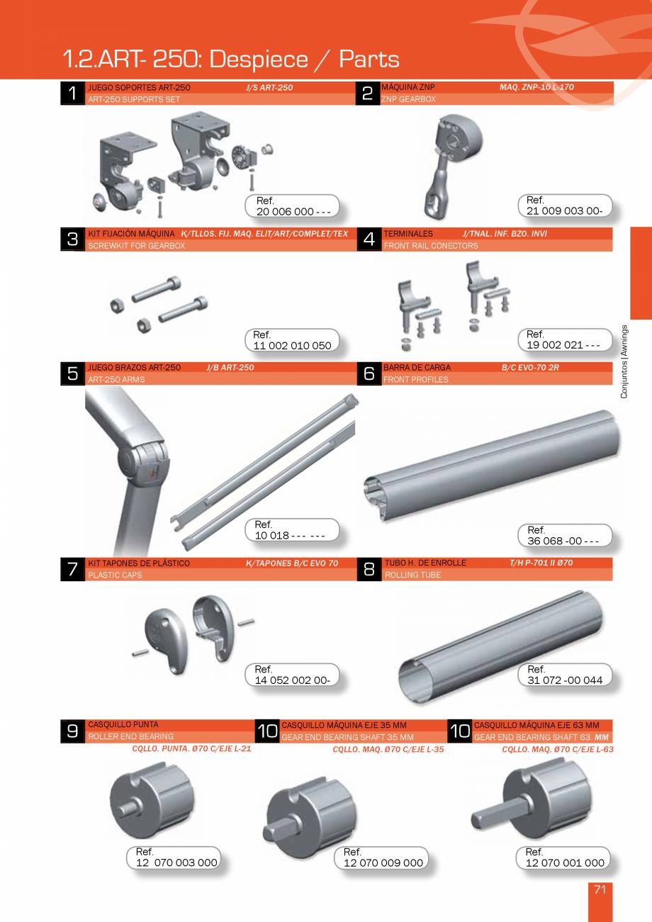 Pagina 143 - Lista de preturi LLaza LLAZA Bip 300, Bip 500, Maxi Screen, Aluminiu, Lemn Catalog,...