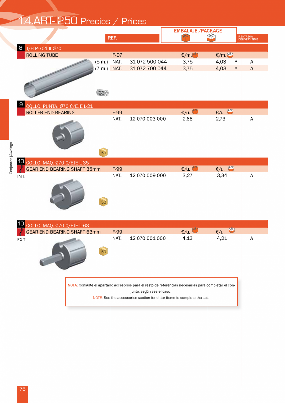 Pagina 153 - Lista de preturi LLaza LLAZA Bip 300, Bip 500, Maxi Screen, Aluminiu, Lemn Catalog,...
