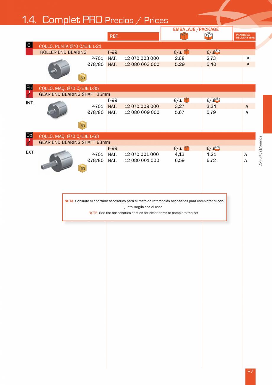 Pagina 175 - Lista de preturi LLaza LLAZA Bip 300, Bip 500, Maxi Screen, Aluminiu, Lemn Catalog,...