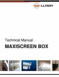 Rulou din material textil (Box)