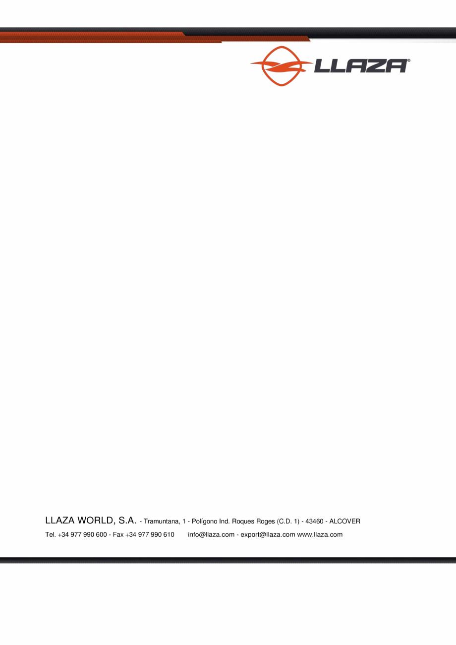 Pagina 17 - Rulou din material textil (Box) LLAZA Maxi Screen Fisa tehnica Engleza