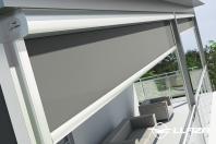 Screen-uri si rulouri solare destinate suprafetelor de sticla
