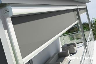 Screen-uri si rulouri solare destinate suprafetelor de sticla LLAZA