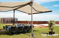 Copertine protectie solara pentru balcoane si terase LLAZA