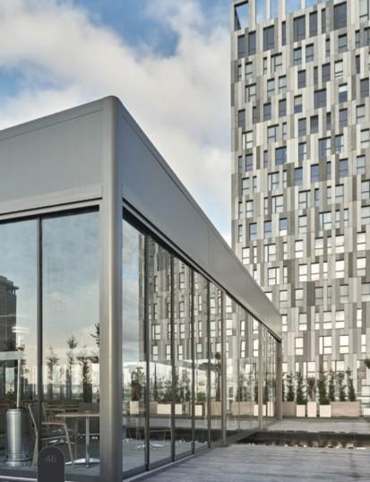 Pergola grea cu structura din aluminiu / Pergola PGT Pavilion