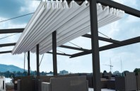 Pergole solare pentru gradina, curte sau terasa LLAZA