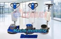 Masini monodisc pentru curatat sau slefuit pardoseli Bohman