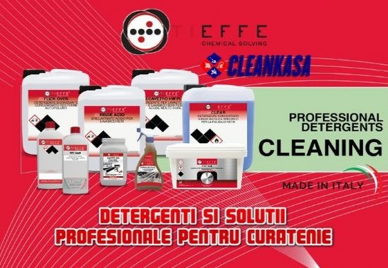 Detergenti si solutii Horeca TIEFFE