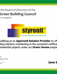 Certificare GREEN RoGBC