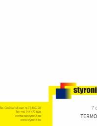 E-book STYRONIT - 7 conditii pentru o termoizolatie eficienta