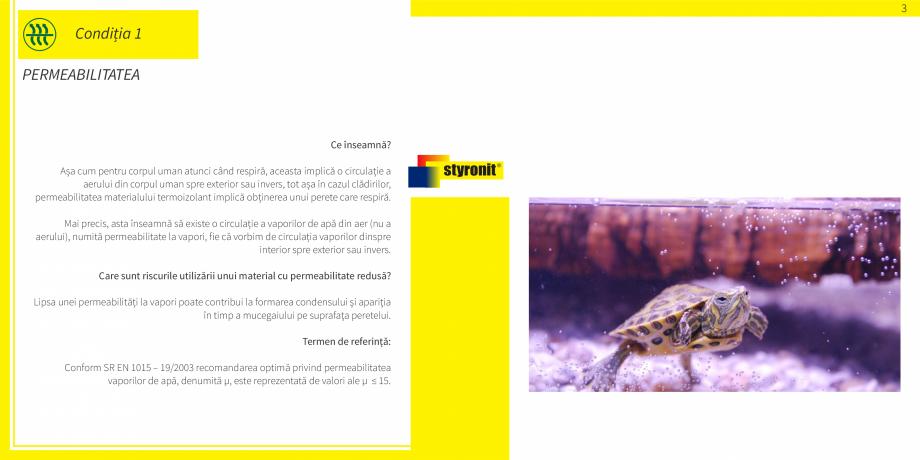 Pagina 4 - E-book STYRONIT - 7 conditii pentru o termoizolatie eficienta  Catalog, brosura Romana...