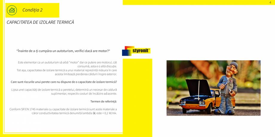 Pagina 5 - E-book STYRONIT - 7 conditii pentru o termoizolatie eficienta  Catalog, brosura Romana...