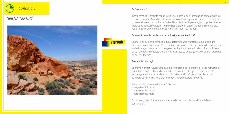 Pagina 6 - E-book STYRONIT - 7 conditii pentru o termoizolatie eficienta  Catalog, brosura Romana e ...