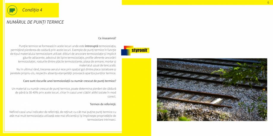 Pagina 7 - E-book STYRONIT - 7 conditii pentru o termoizolatie eficienta  Catalog, brosura Romana ...