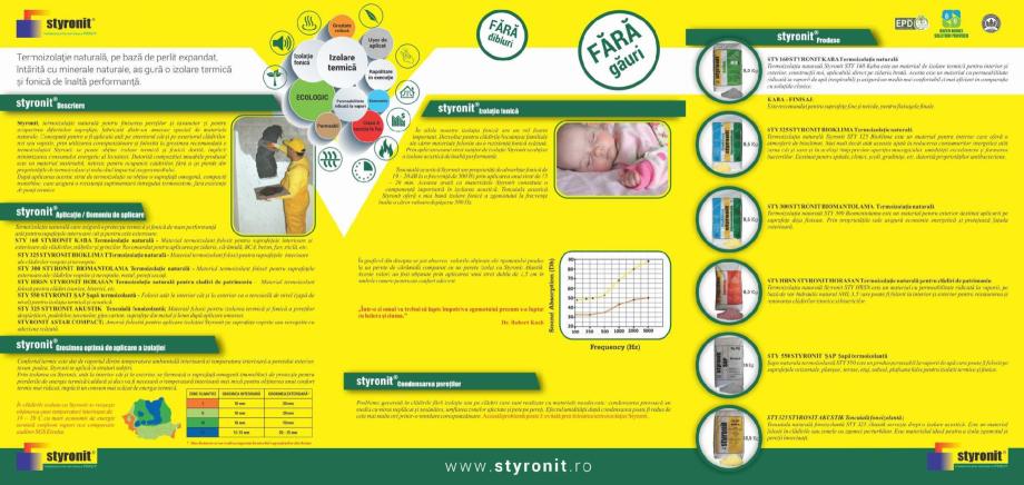 Pagina 2 - Termoizolatie naturala pe baza de perlit STYRONIT STYRONIT SAP Catalog, brosura Romana