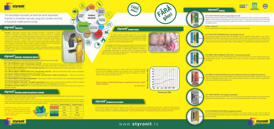 Pagina 2 - Termoizolatie naturala pe baza de perlit STYRONIT STYRONIT Horasan Catalog, brosura...