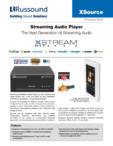 Player audio cu streaming Russound - XSource