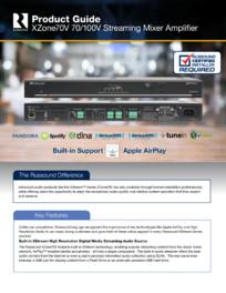 Amplificator si mixer cu streaming integrat Russound